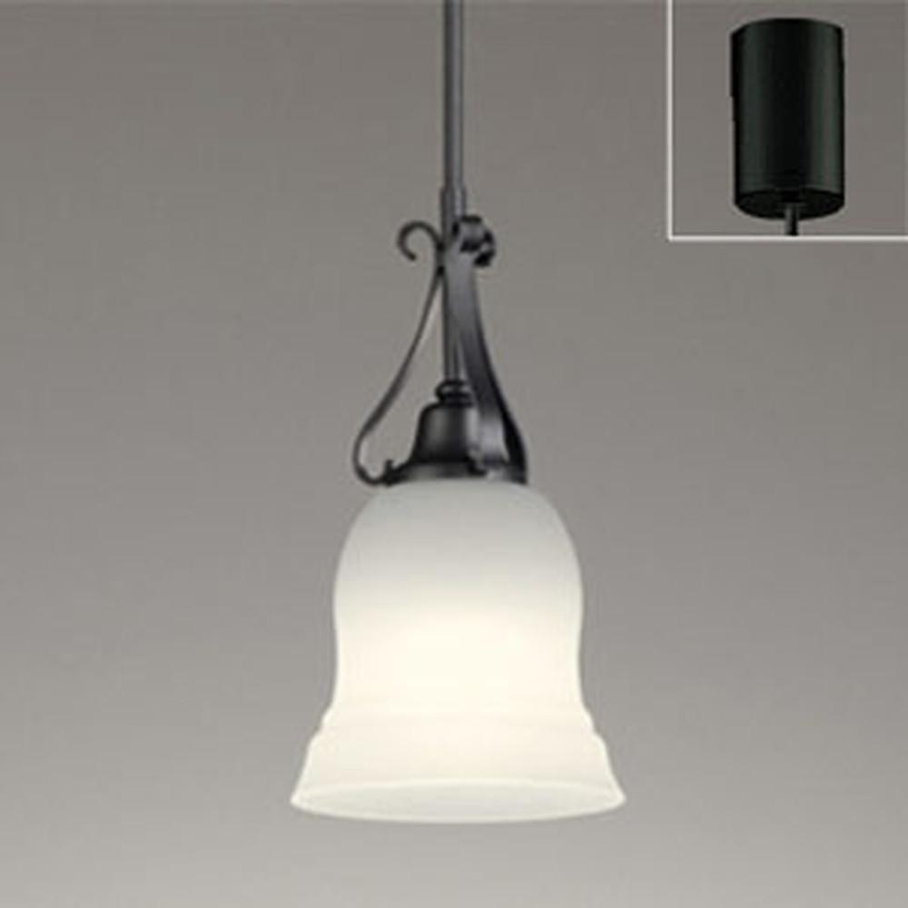 オーデリック LEDペンダントライト 引掛シーリングタイプ 白熱灯60W相当 電球色 調光タイプ OP252447LC