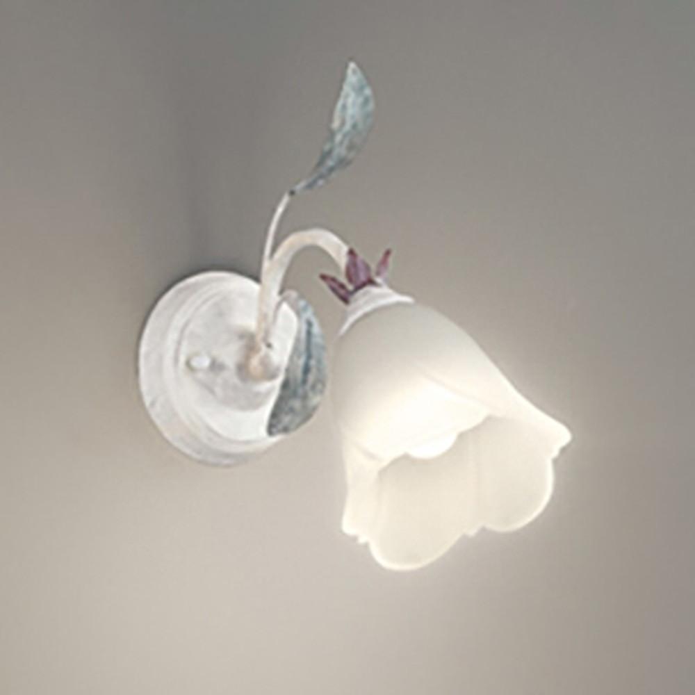 オーデリック LEDブラケットライト 上・下向き取付可能 白熱灯60W相当 電球色~昼光色 調光・調色 Bluetooth®対応 グレイッシュホワイト OB255166BC