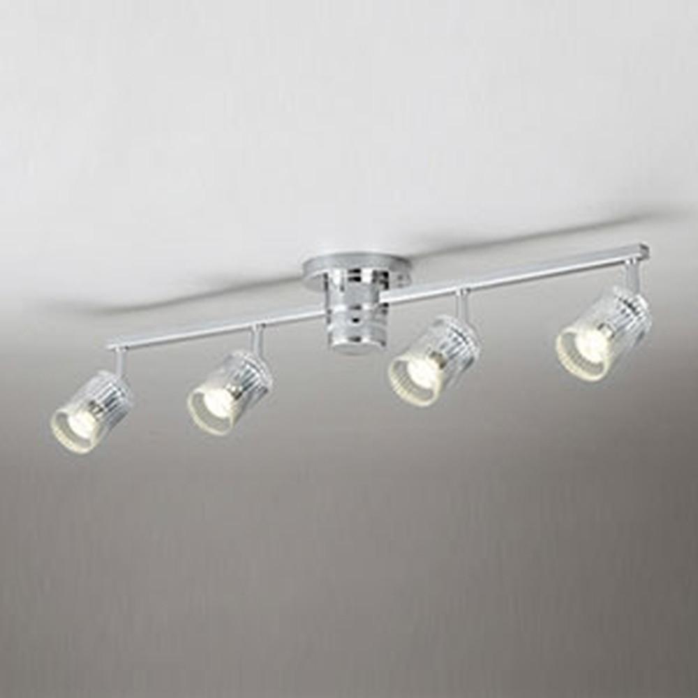 オーデリック LEDスポットライト JDR50W/40W×4灯相当 E11口金 調光タイプ ランプ別売 リモコン付 OC257102