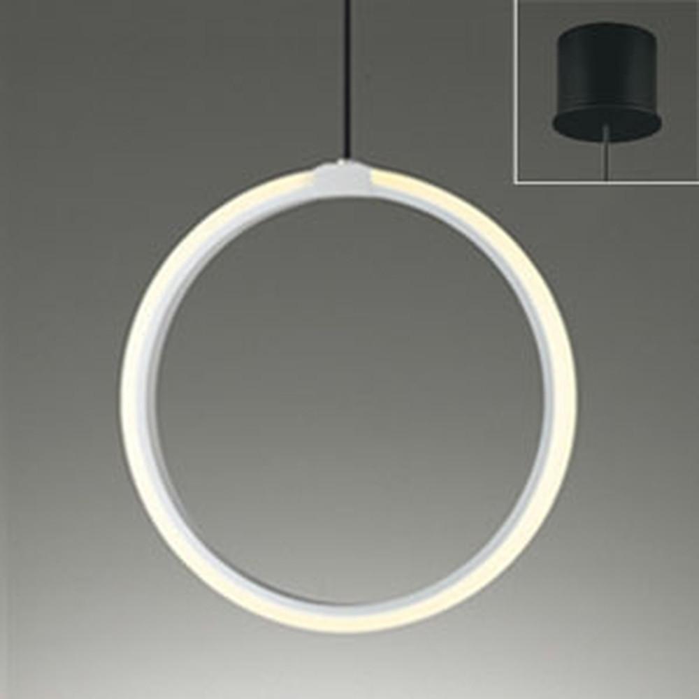 オーデリック LEDペンダントライト 直付専用 白熱灯60W相当 電球色 OP252523