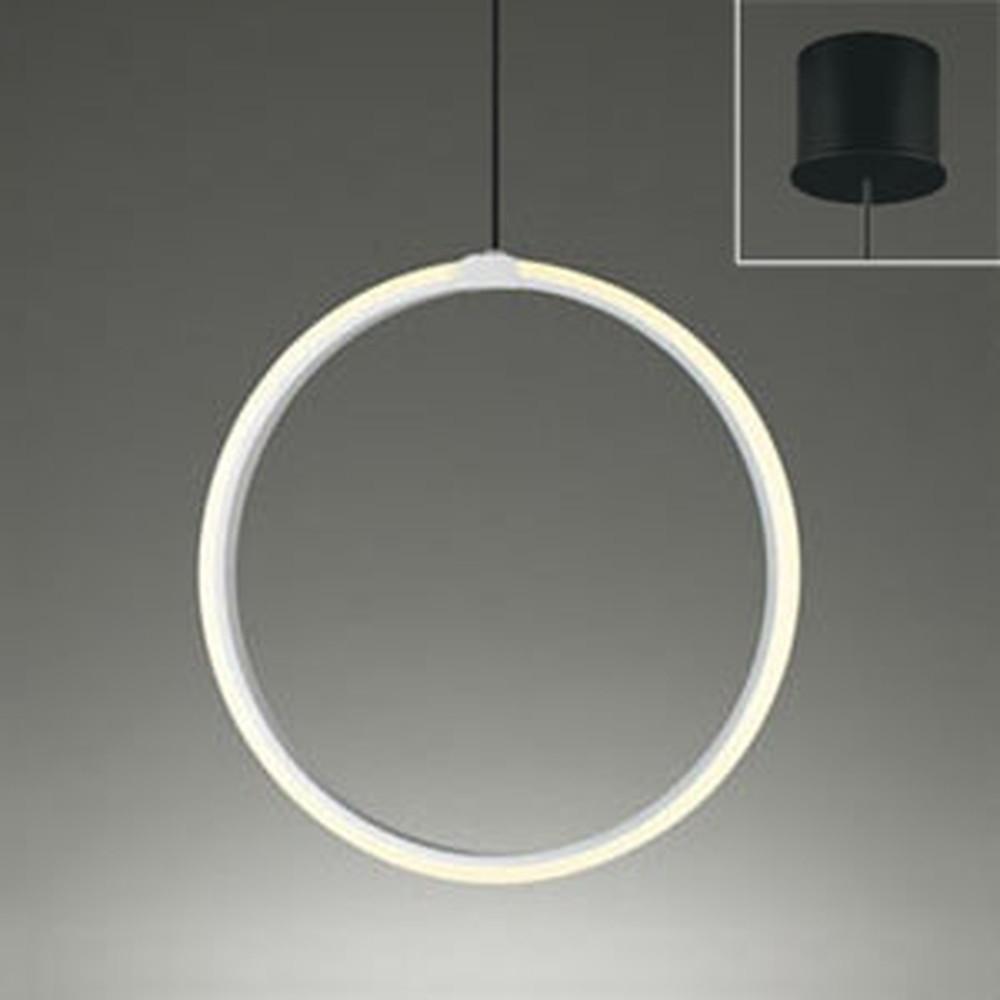 オーデリック LEDペンダントライト 直付専用 白熱灯80W相当 電球色 OP252522