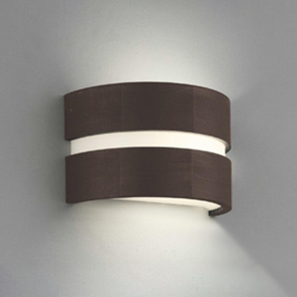 オーデリック LEDブラケットライト 白熱灯60W相当 電球色~昼光色 調光・調色 Bluetooth®対応 上下部グレアカットルーバー付 エボニーブラウン OB080967BC