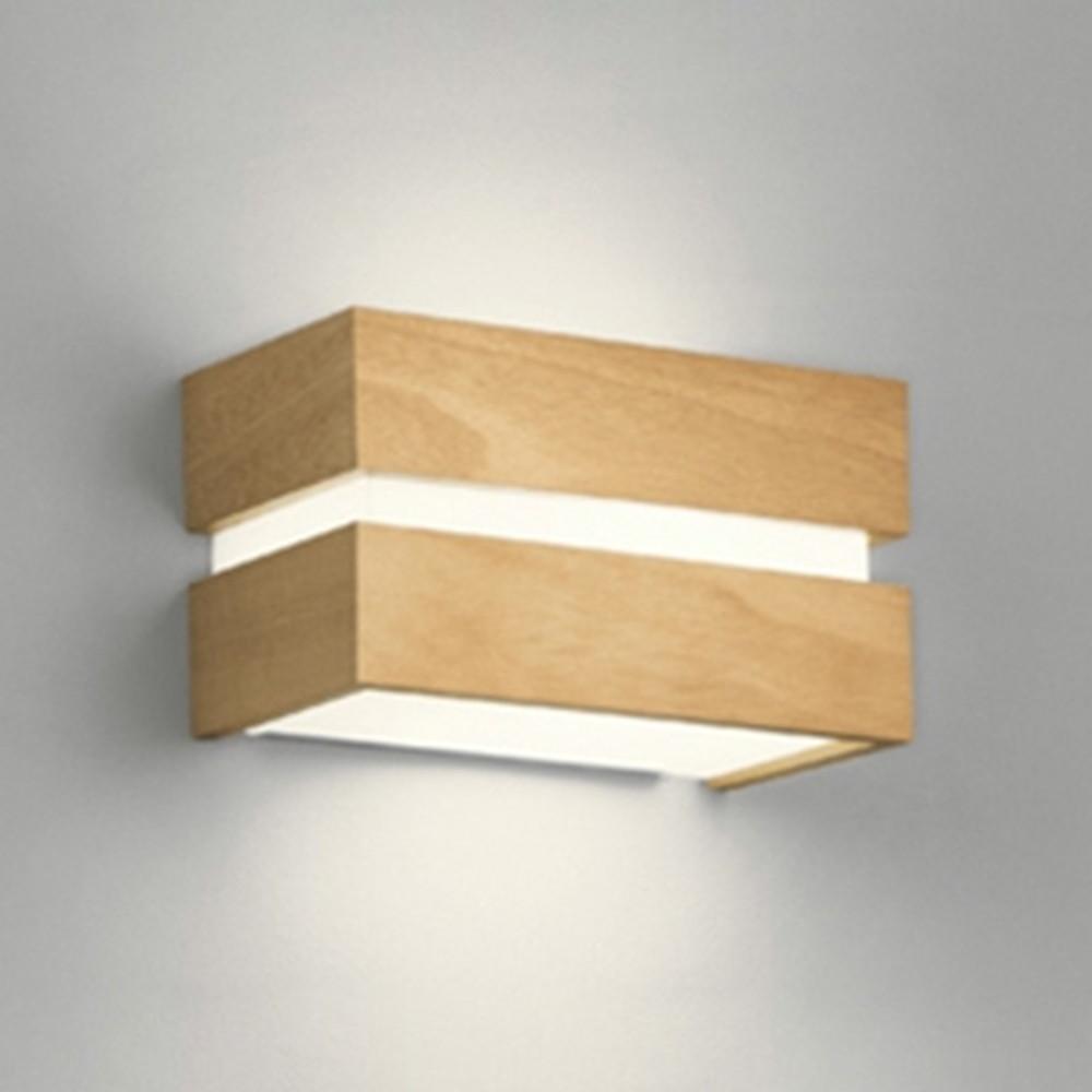 オーデリック LEDブラケットライト 密閉型 白熱灯60W相当 電球色⇔昼白色 光色切替調光タイプ ナチュラル OB080968PC