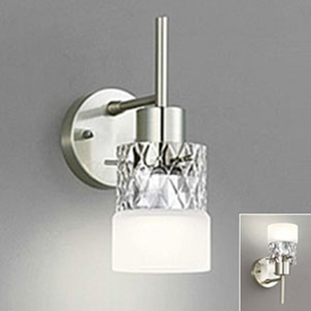 オーデリック LEDブラケットライト 上向き・下向き取付可能 白熱灯60W相当 電球色~昼光色 フルカラー調光・調色 Bluetooth®対応 OB081009BR