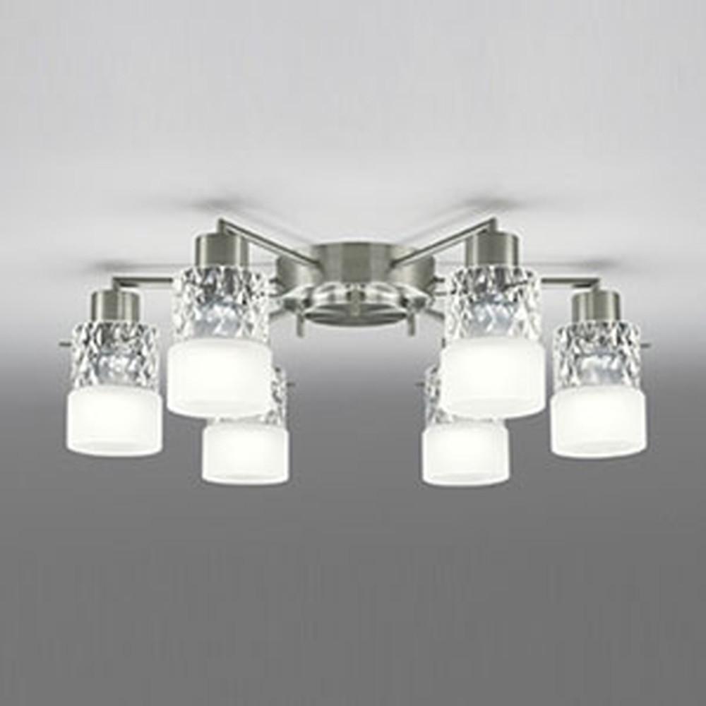 オーデリック LEDシャンデリア ~8畳用 電球色~昼光色 フルカラー調光・調色タイプ 青tooth®対応 OC005013BR