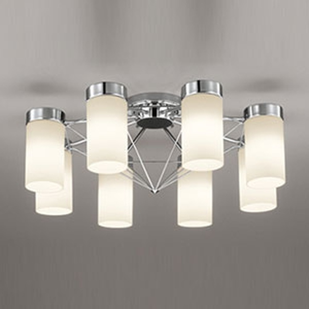 オーデリック LEDシャンデリア ~10畳用 7.5W×8灯タイプ 電球色 OC257087LD