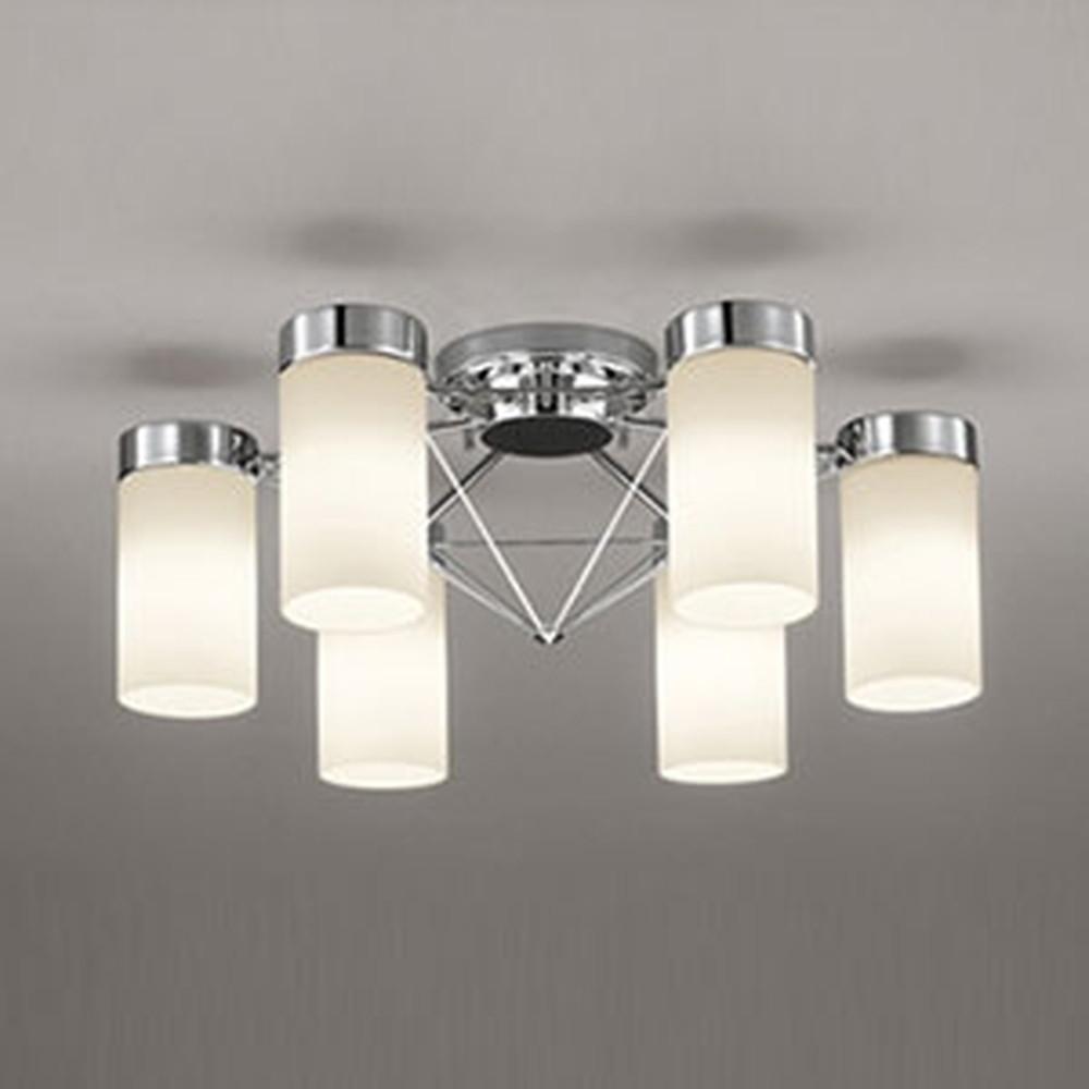 オーデリック LEDシャンデリア ~6畳用 9.8W×6灯タイプ 電球色 調光タイプ OC257089LC