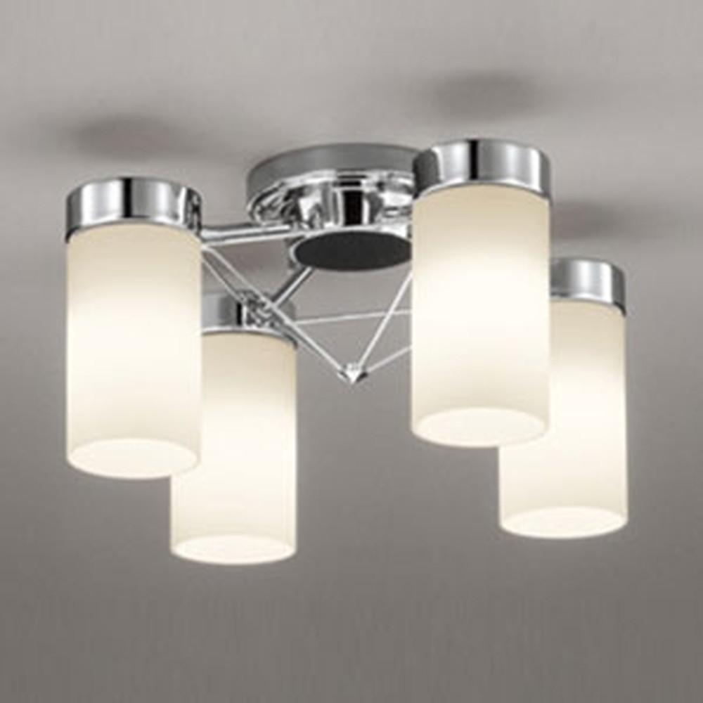オーデリック LEDシャンデリア 白熱灯100W×4灯相当 電球色⇔昼白色 光色切替調光タイプ OC257090PC