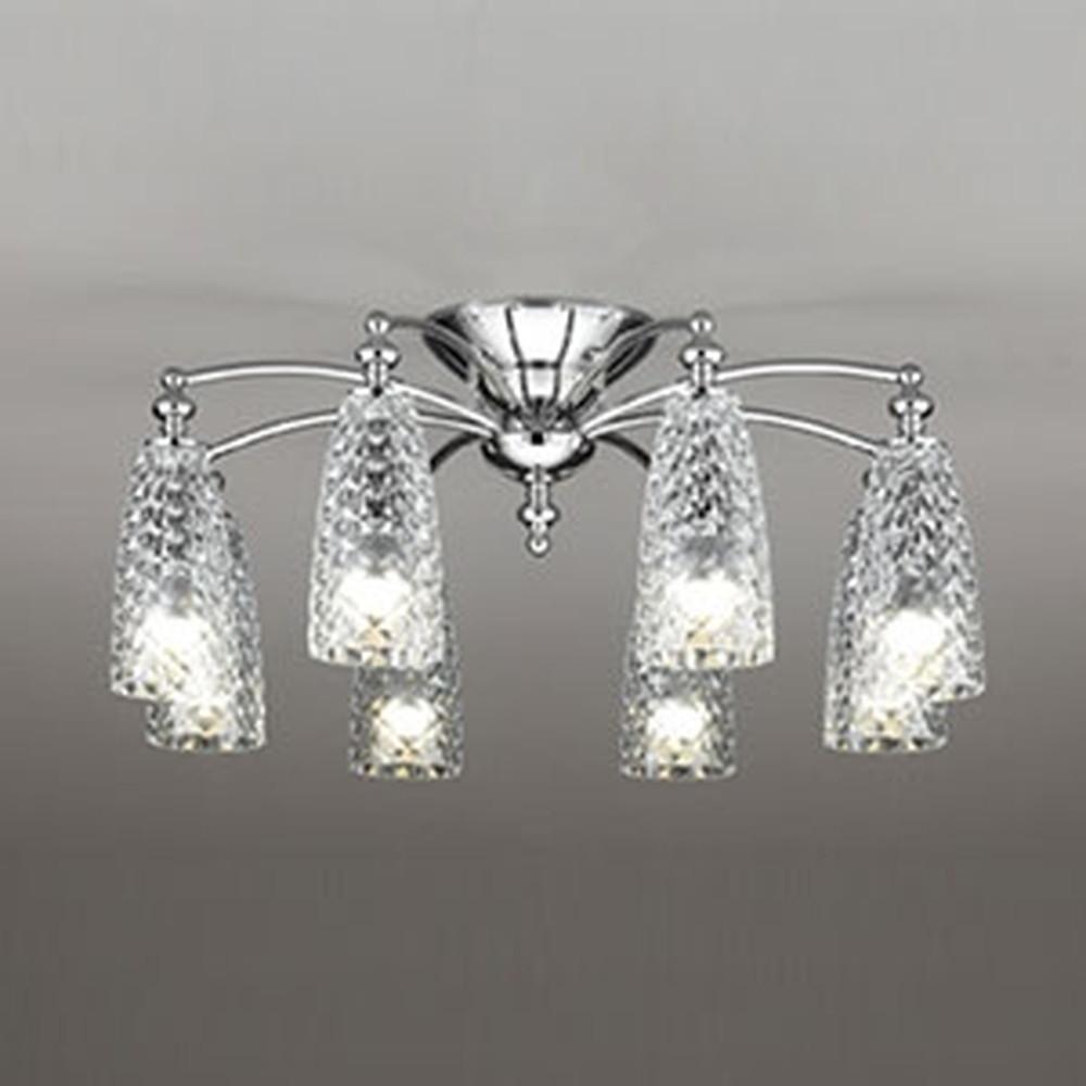 オーデリック LEDシャンデリア ~8畳用 6W×8灯タイプ 電球色 調光タイプ OC257098LC