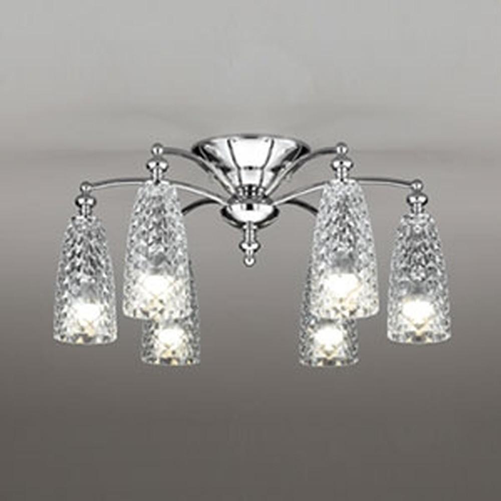 オーデリック LEDシャンデリア ~6畳用 5.2W×6灯タイプ 電球色~昼光色 調光・調色タイプ Bluetooth®対応 OC257099BC