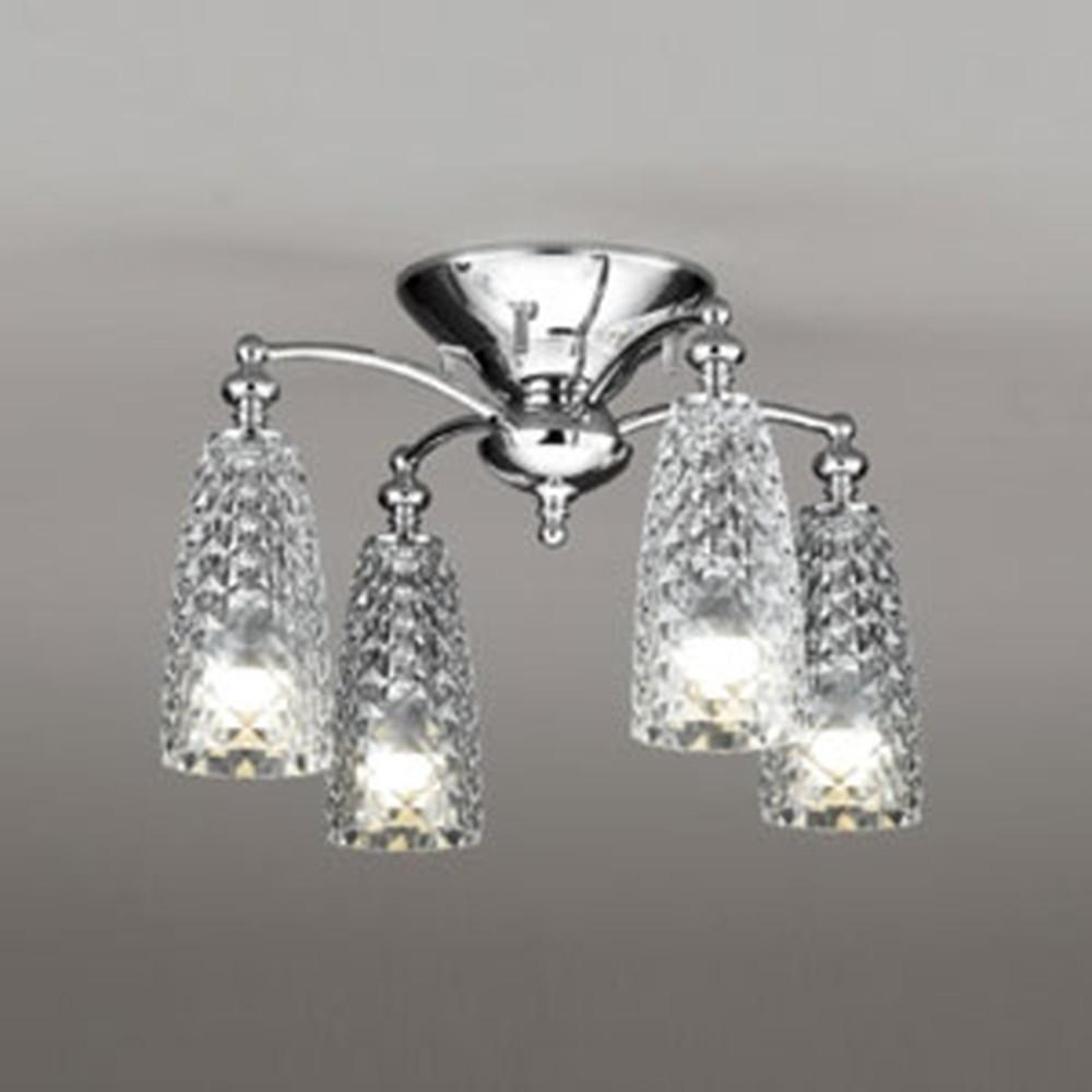 オーデリック LEDシャンデリア 白熱灯60W×4灯相当 電球色~昼光色 調光・調色タイプ Bluetooth®対応 OC257100BC