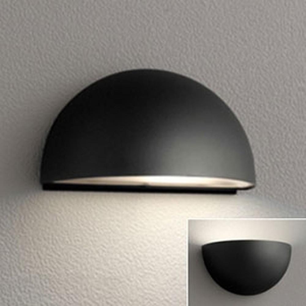 オーデリック LEDポーチライト 防雨型 上向き・下向き取付可能 白熱灯60W相当 電球色 黒 OG254697LD