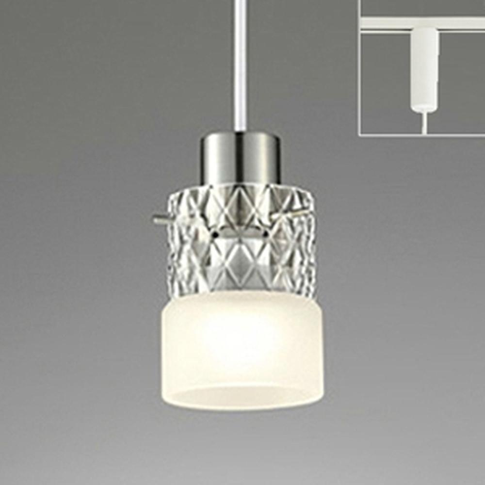 オーデリック LEDペンダントライト ライティングレール取付専用 白熱灯60W相当 電球色~昼光色 フルカラー調光・調色 Bluetooth®対応 OP034378BR