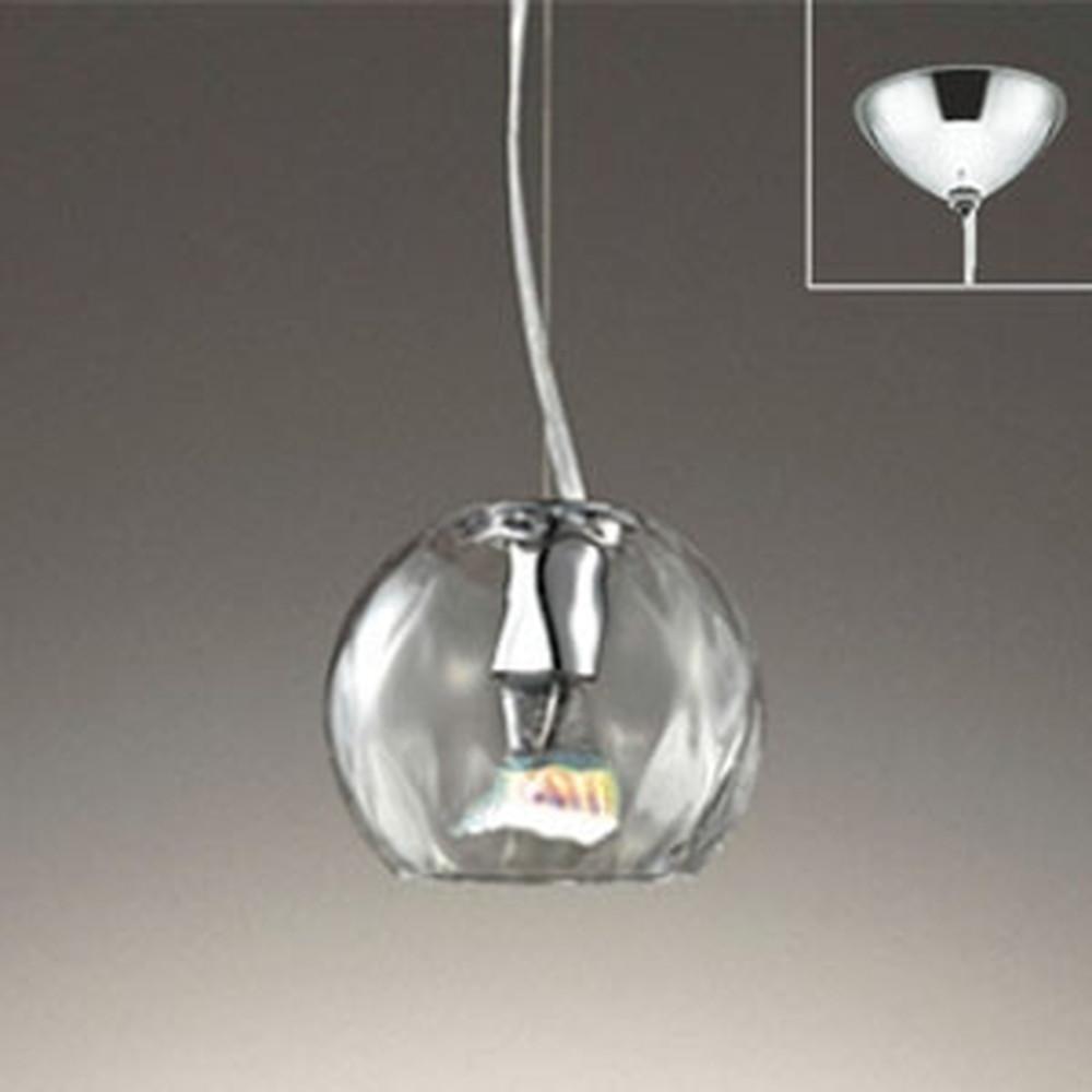 オーデリック LEDペンダントライト 直付専用 JDR40W相当 電球色 調光タイプ 透明 OP252438LC1