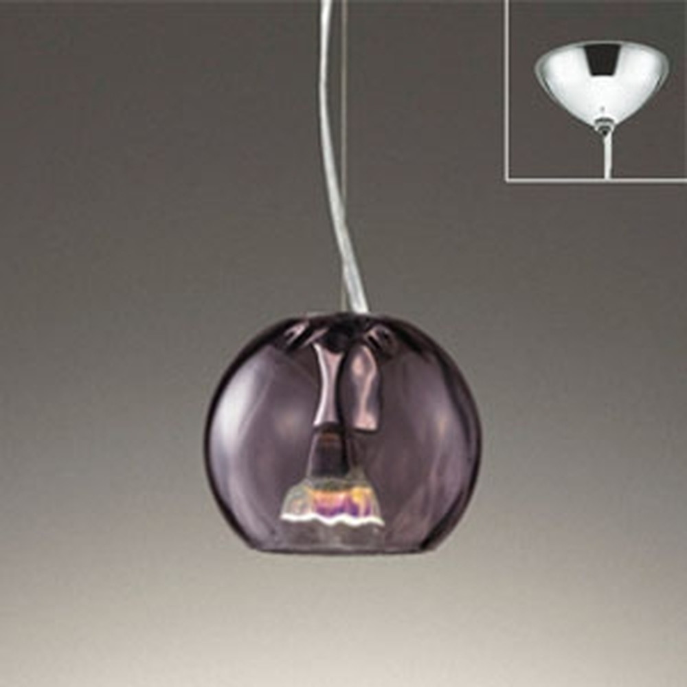 オーデリック LEDペンダントライト 直付専用 JDR40W相当 電球色 調光タイプ グレー OP252440LC1