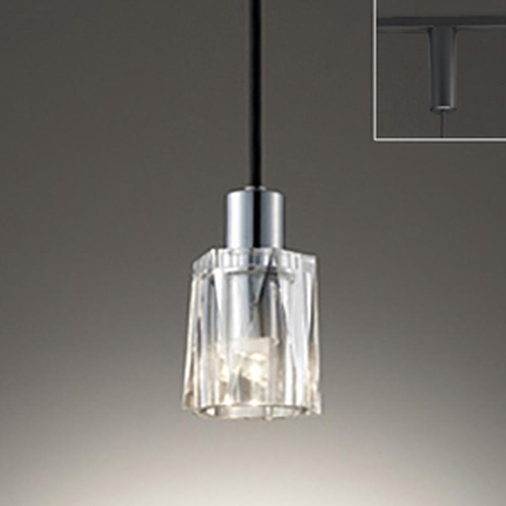 オーデリック LEDペンダントライト ライティングレール取付専用 白熱灯30W相当 電球色 OP252456LD