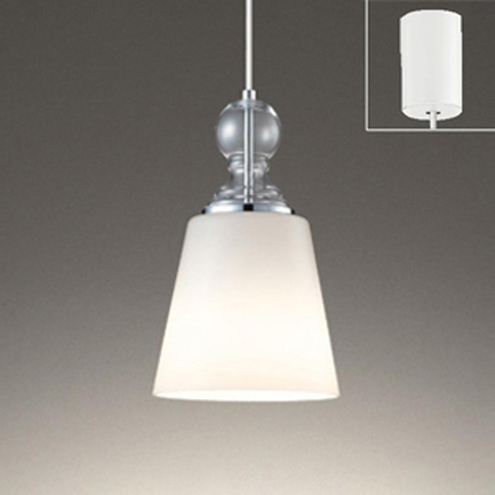 オーデリック LEDペンダントライト 白熱灯100W相当 電球色 クロームメッキ OP252466LD