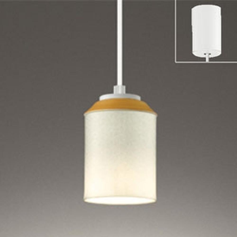 オーデリック LEDペンダントライト 引掛シーリングタイプ 白熱灯60W相当 電球色 調光タイプ 麻ノ葉文様 OP252493LC