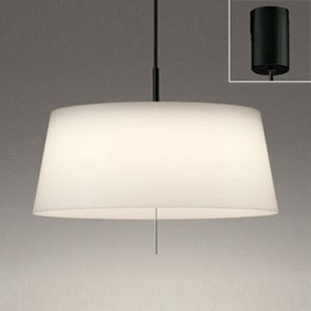 オーデリック LEDペンダントライト FCL30W相当 電球色・昼白色 光色切替調光タイプ プルスイッチ付 乳白 OP252511PC