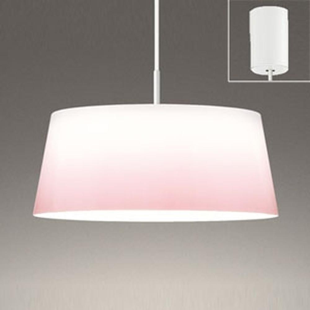 オーデリック LEDペンダントライト FCL30W相当 電球色 グラデーションプリント OP252516LD