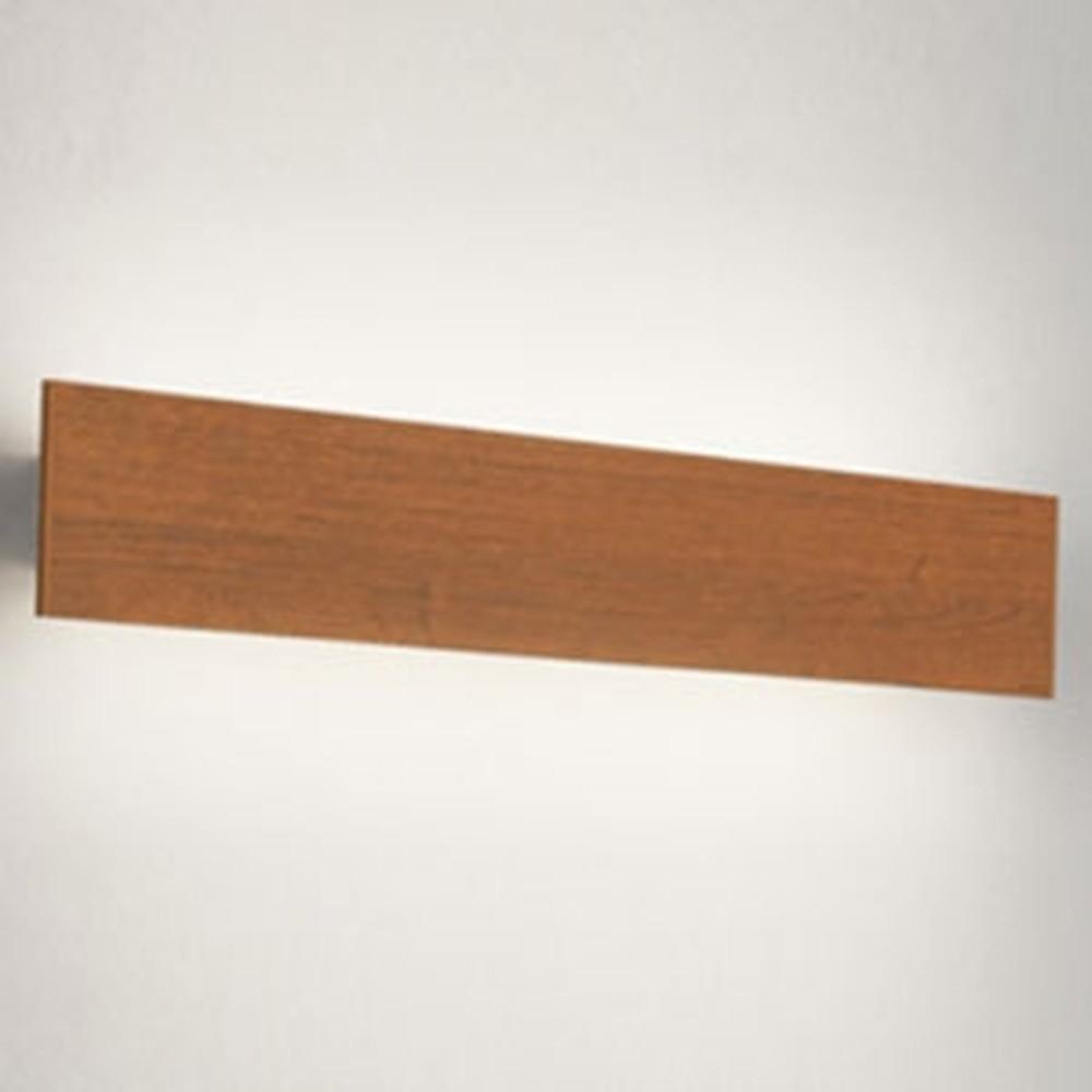 オーデリック LED一体型ブラケットライト 壁面取付専用 フラットパネル FL20W相当 電球色 木調チェリー OB255223