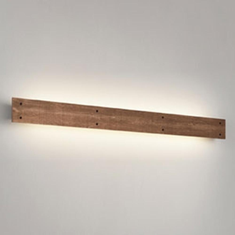 オーデリック LED一体型ブラケットライト 壁面取付専用 FL40W相当 電球色 OB255215
