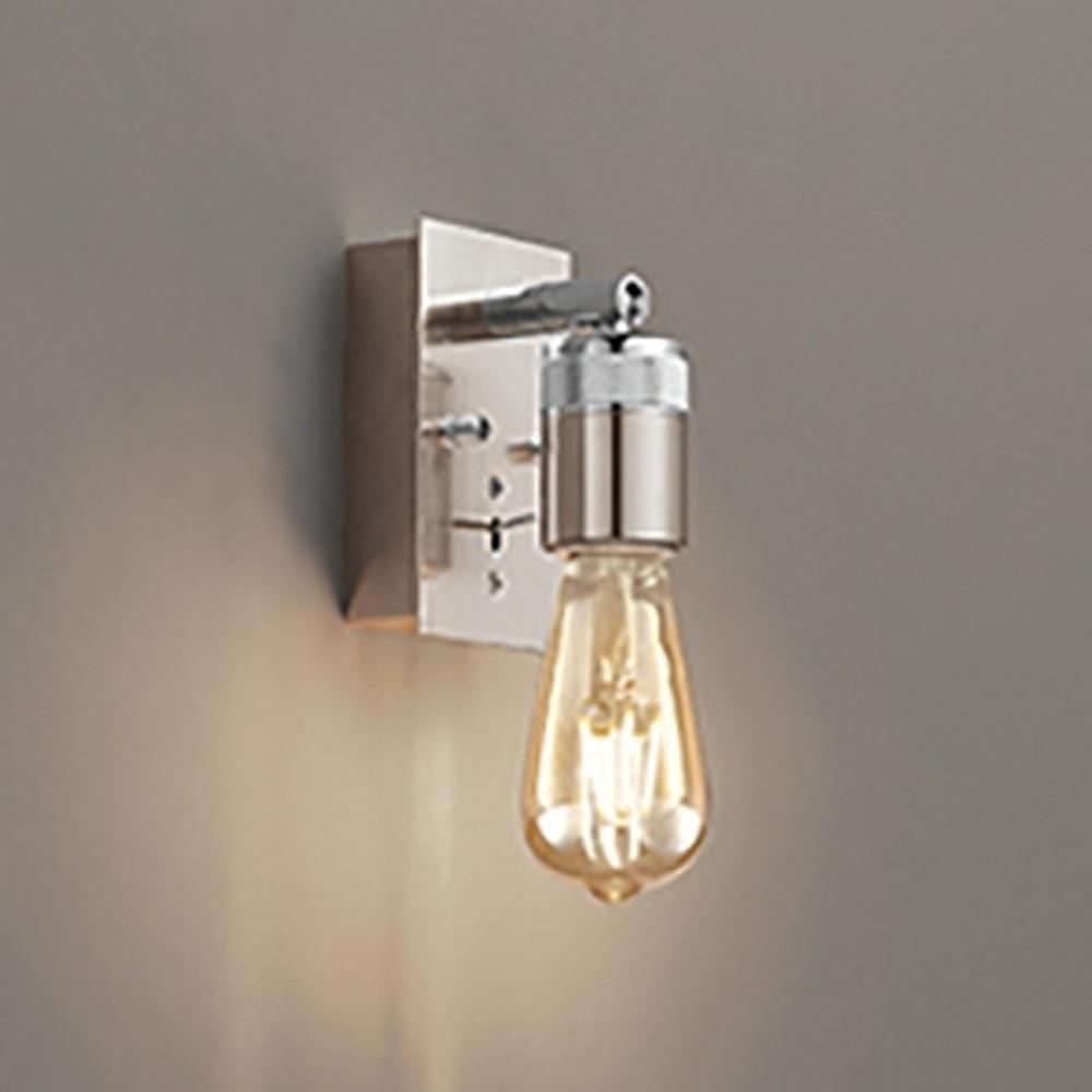 オーデリック LEDブラケットライト 白熱灯30W相当 電球色 クロームメッキ OB255170LC