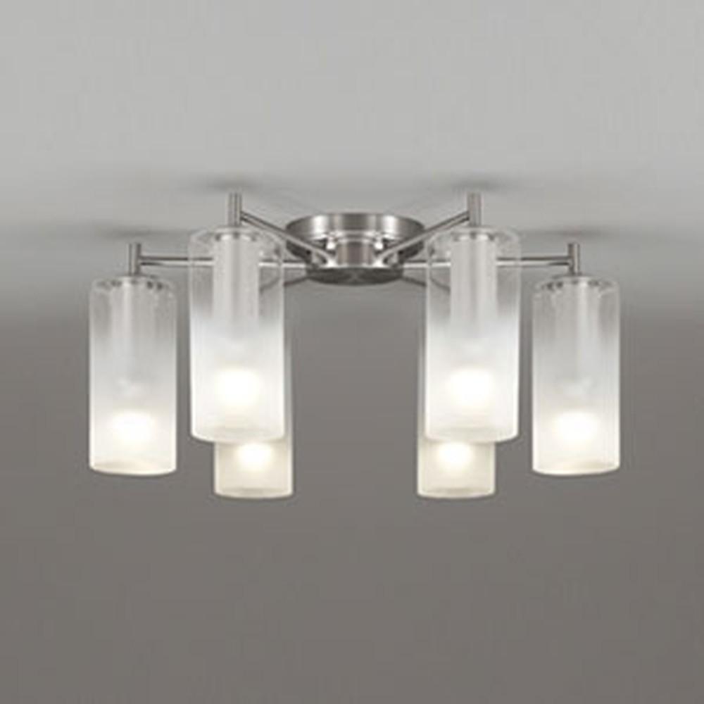 オーデリック LEDシャンデリア 《AQUA Mist》 ~6畳用 5.2W×6灯タイプ 電球色~昼光色 調光・調色タイプ Bluetooth®対応 OC257113BC