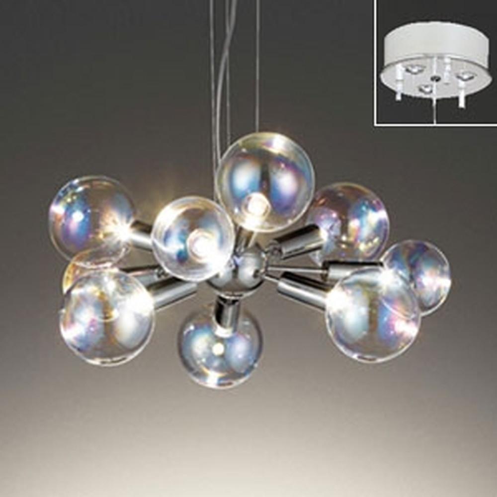オーデリック LEDシャンデリア ~4.5畳用 3W×9灯タイプ 電球色 電動昇降装置対応 OC257118LD
