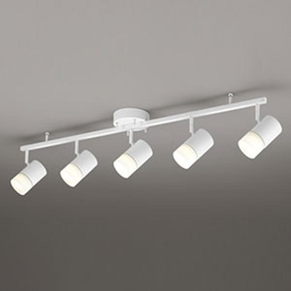 オーデリック LEDスポットライト ~8畳用 8.6W×5灯タイプ 電球色⇔昼白色 光色切替調光タイプ OC257123PC
