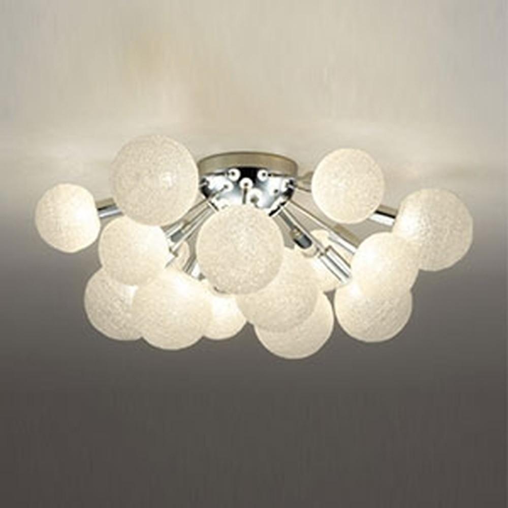 オーデリック LEDシャンデリア ~10畳用 3W×15灯タイプ 電球色 OC257124LD