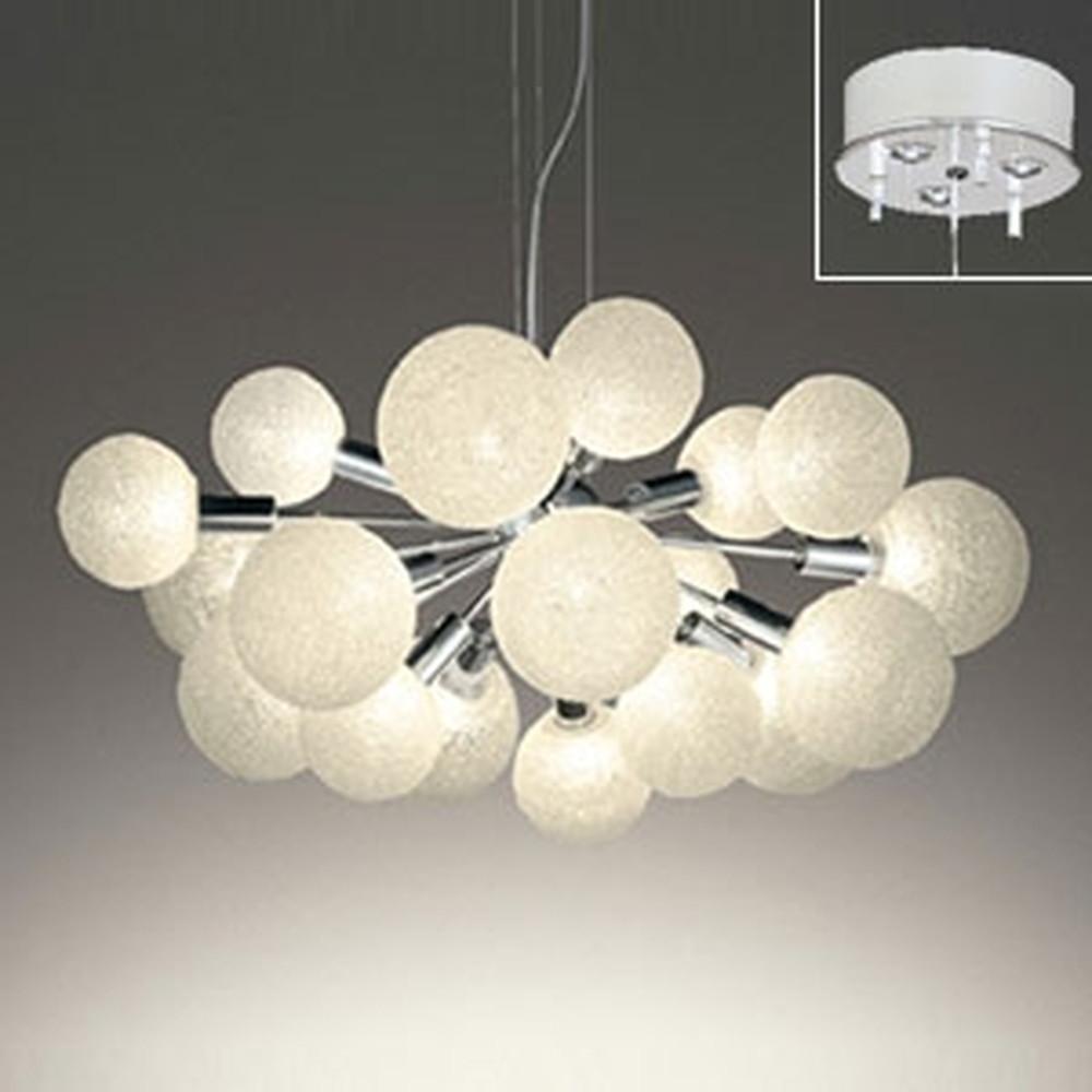 オーデリック LEDシャンデリア ~10畳用 3W×18灯タイプ 電球色 電動昇降装置対応 OC257126LD