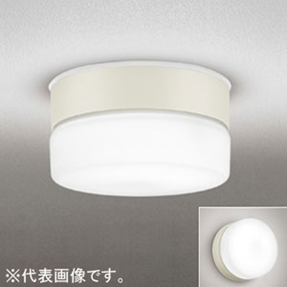 オーデリック LEDポーチライト 防雨型 壁面・天井面取付兼用 FCL20W相当 電球色 OG254769LD
