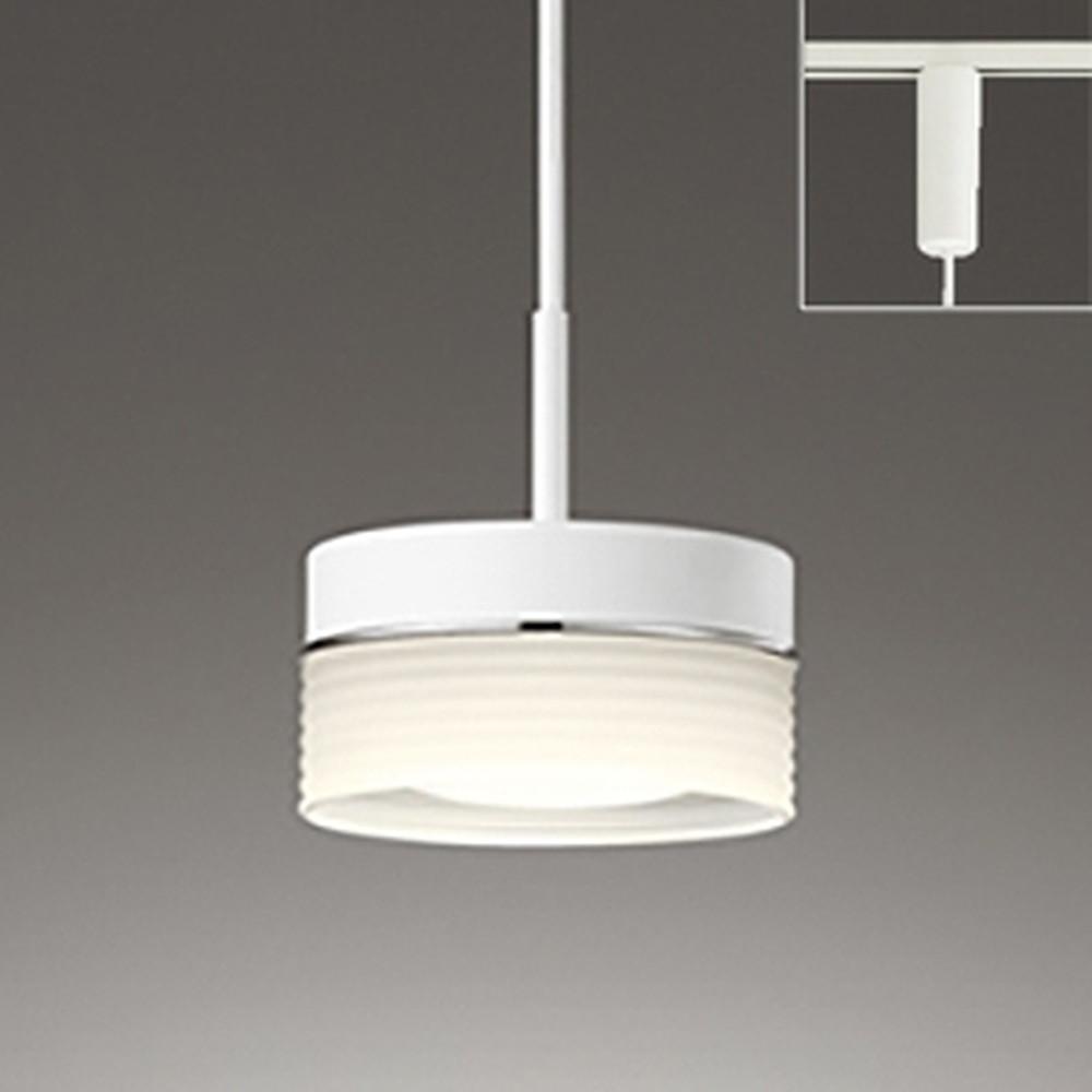 オーデリック LEDペンダントライト ライティングレール取付専用 白熱灯60W相当 電球色~昼光色 フルカラー調光・調色 Bluetooth®対応 OP252240BR