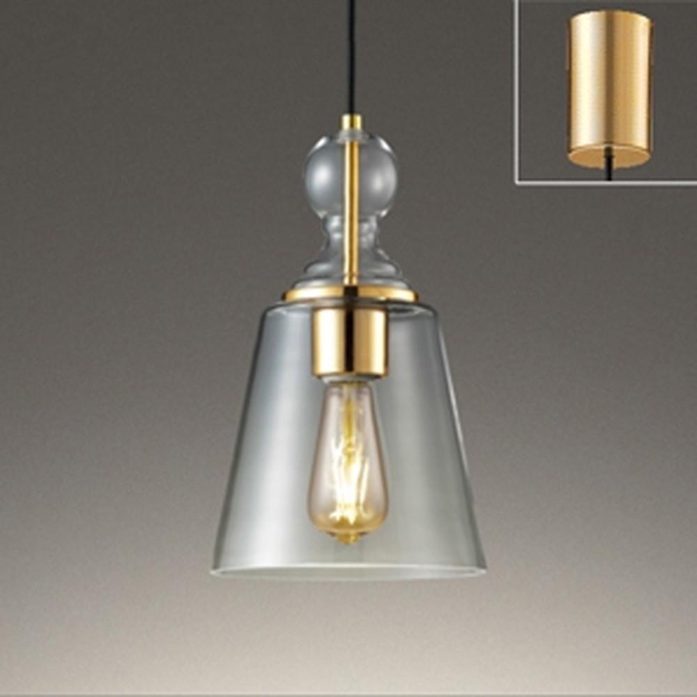 オーデリック LEDペンダントライト 白熱灯30W相当 電球色 調光タイプ 金色メッキ OP252416LC