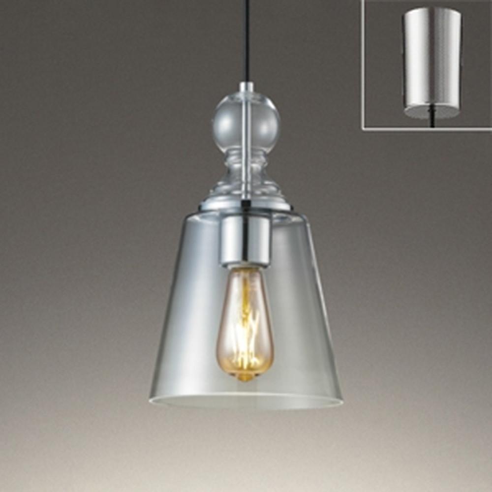 オーデリック LEDペンダントライト 白熱灯30W相当 電球色 調光タイプ クロームメッキ OP252417LC