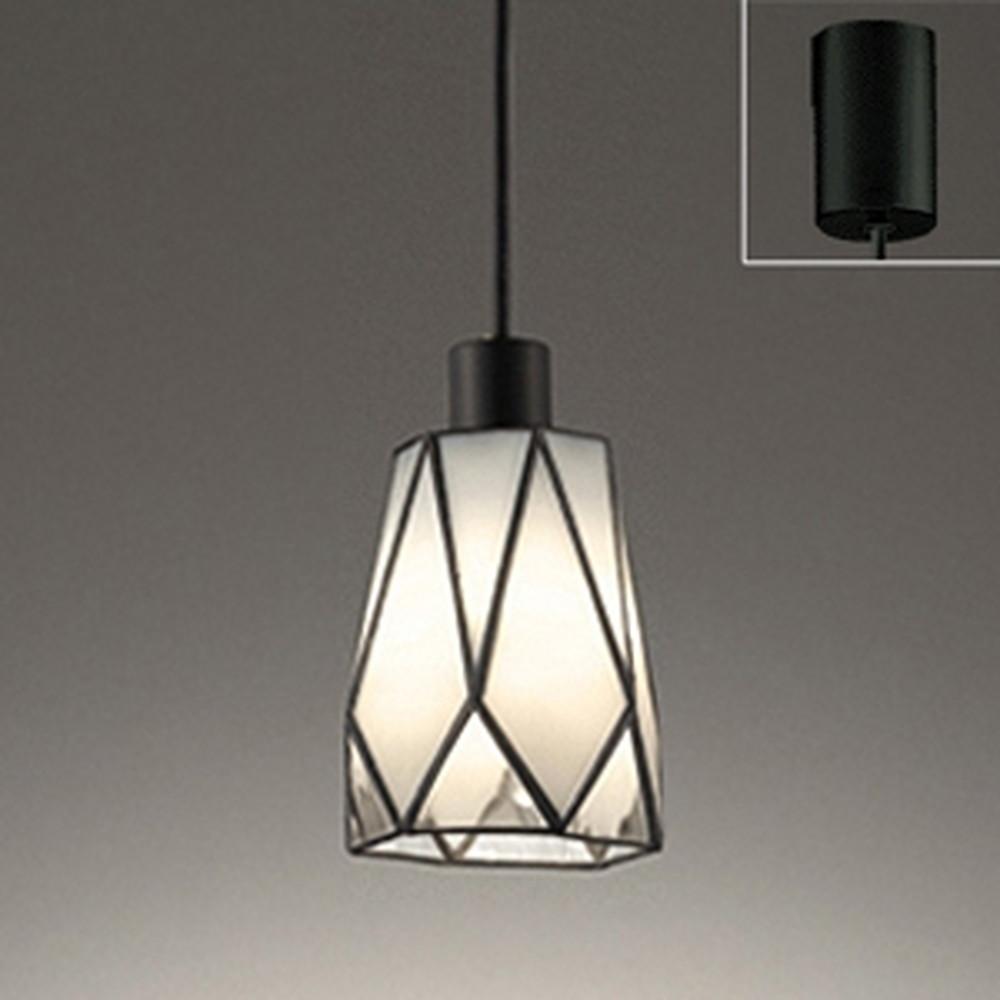 オーデリック LEDペンダントライト 引掛シーリングタイプ 白熱灯30W相当 電球色 透明 OP252449LD1