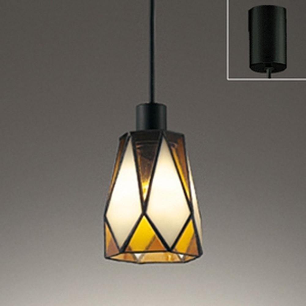 オーデリック LEDペンダントライト 引掛シーリングタイプ 白熱灯30W相当 電球色 橙 OP252451LD1