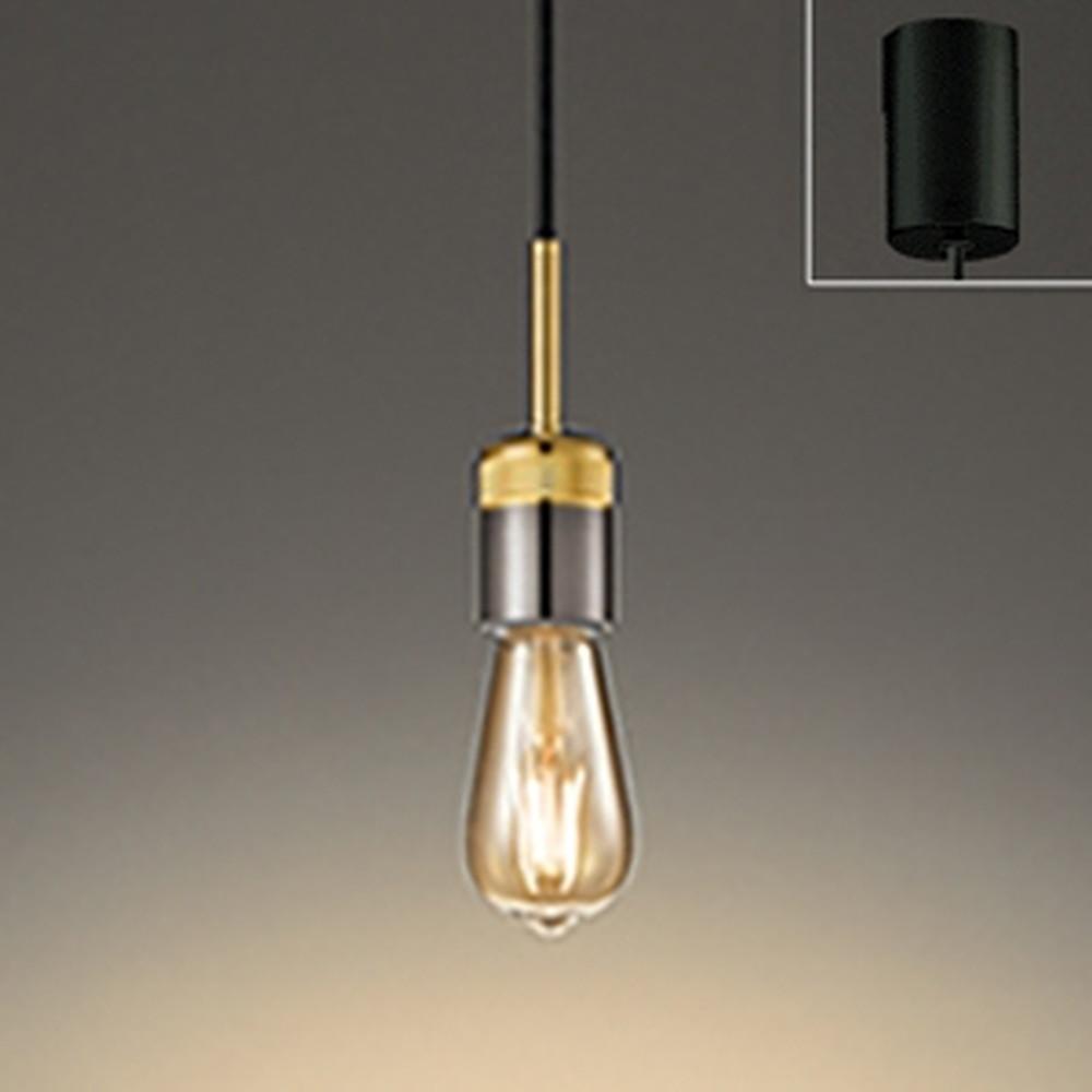 オーデリック LEDペンダントライト 引掛シーリングタイプ 白熱灯30W相当 電球色 調光タイプ 金メッキ OP252463LC