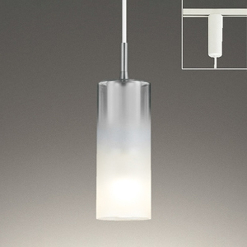 オーデリック LEDペンダントライト 《AQUA-Mist-》 ライティングレール取付専用 白熱灯60W相当 電球色~昼光色 調光・調色 Bluetooth®対応 OP252548BC