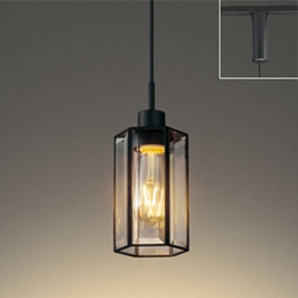 オーデリック LEDペンダントライト ライティングレール取付専用 白熱灯30W相当 電球色 調光タイプ OP252554LC