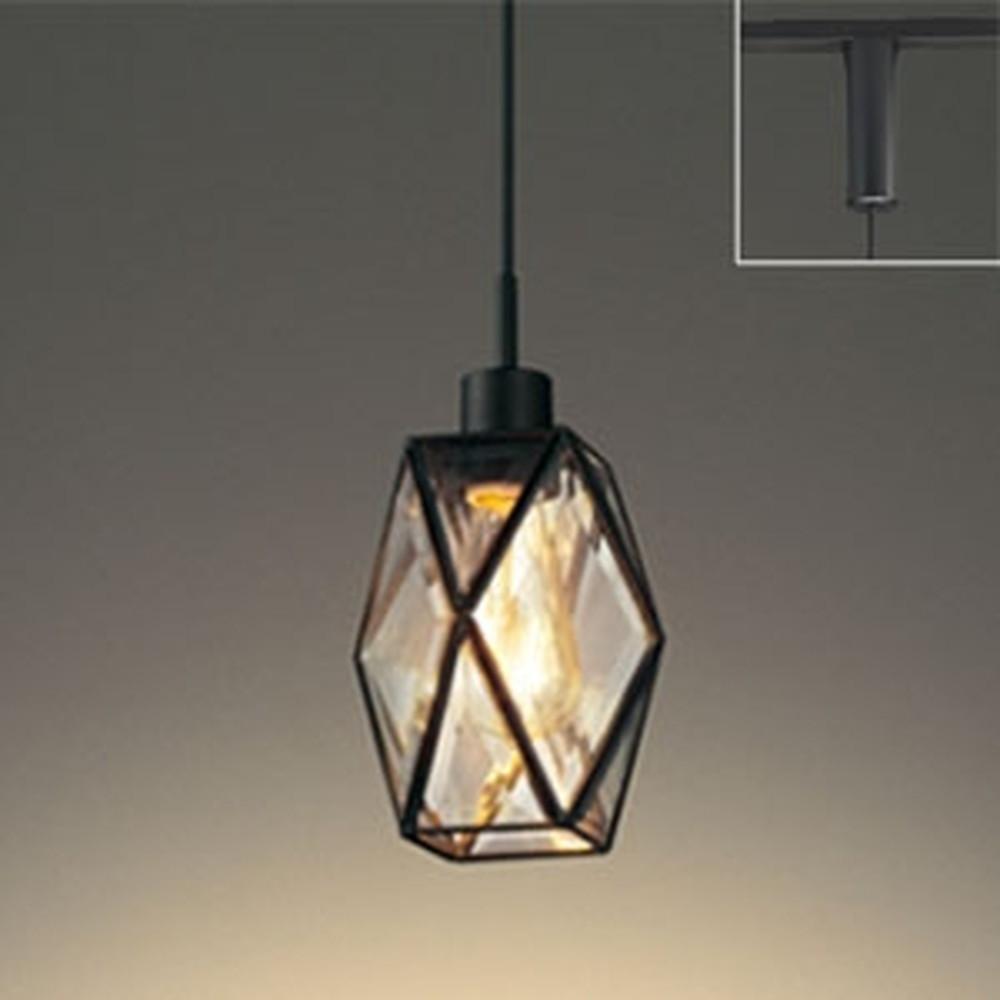 オーデリック LEDペンダントライト ライティングレール取付専用 白熱灯30W相当 電球色 調光タイプ OP252556LC