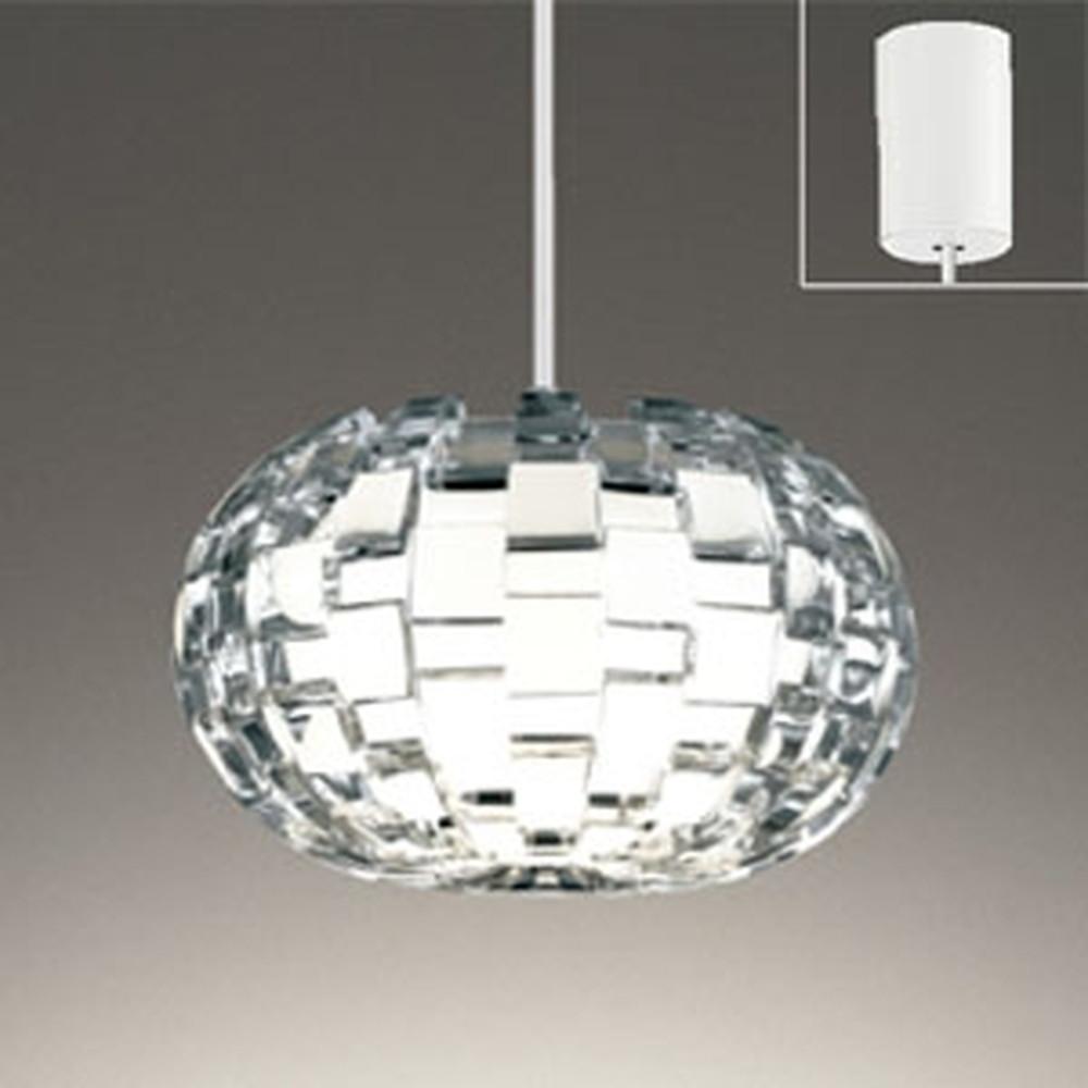 オーデリック LEDペンダントライト 引掛シーリングタイプ 白熱灯60W相当 電球色 OP252581LD