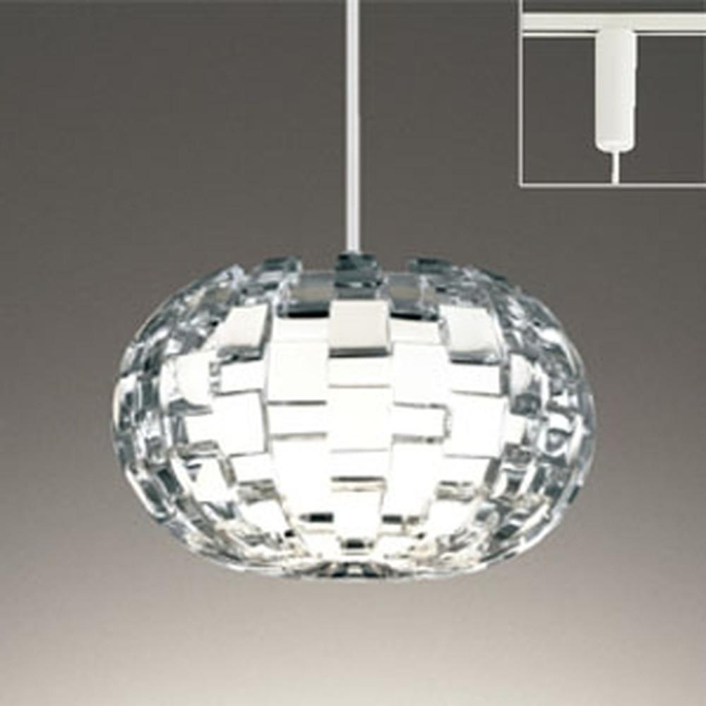 オーデリック LEDペンダントライト ライティングレール取付専用 白熱灯60W相当 電球色~昼光色 調光・調色タイプ Bluetooth®対応 OP252582BC