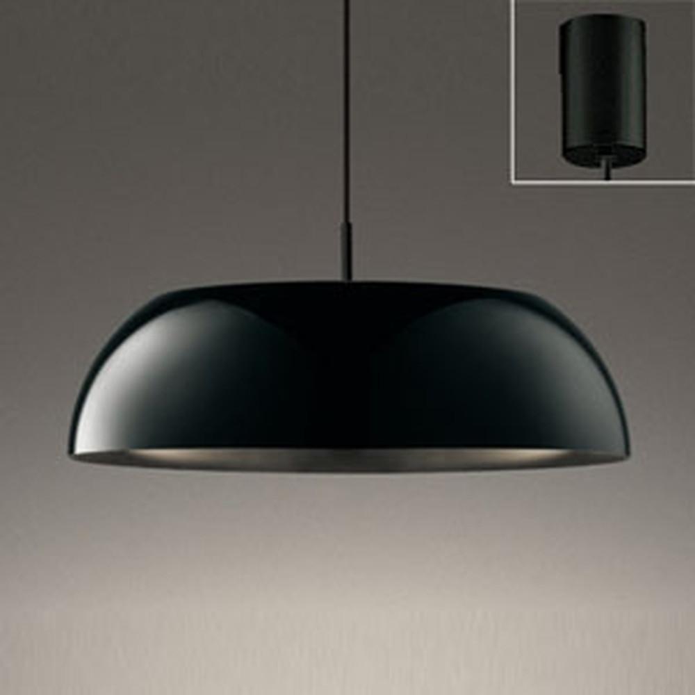オーデリック LEDペンダントライト FCL30W相当 電球色 黒 OP252592LD