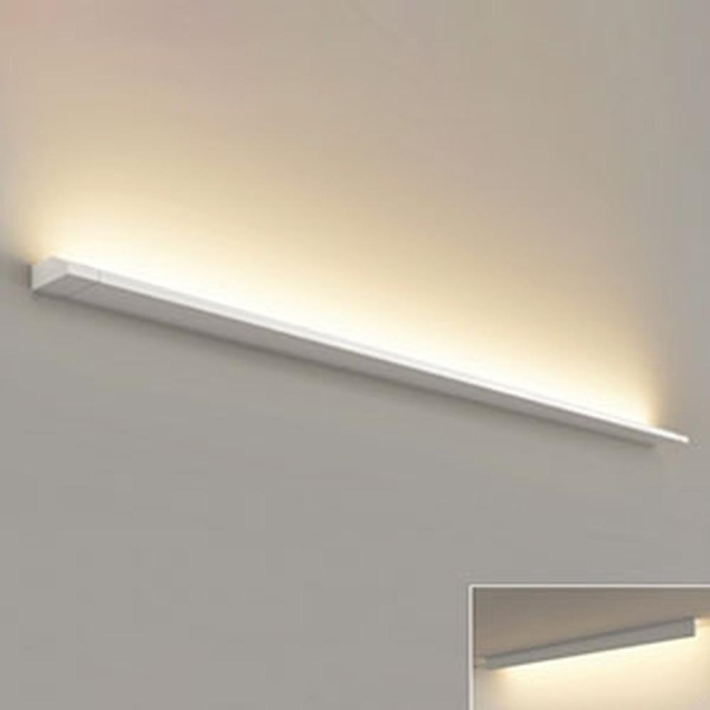 オーデリック LED一体型ブラケットライト 壁面・天井面取付兼用 L1500タイプ 電球色 3000K 電源ケーブル・連結パーツ別売 OB255226E