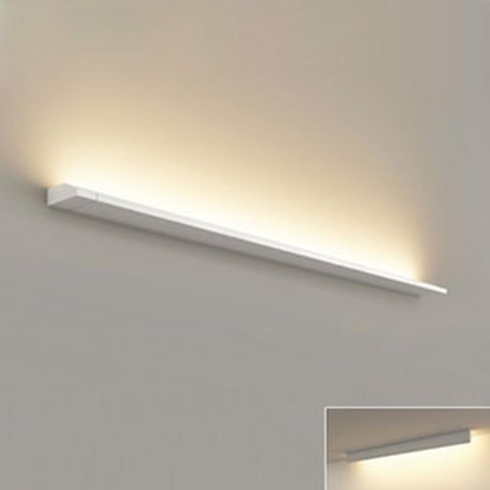 オーデリック LED一体型ブラケットライト 壁面・天井面取付兼用 L1200タイプ 電球色 2700K 電源ケーブル・連結パーツ別売 OB255227F
