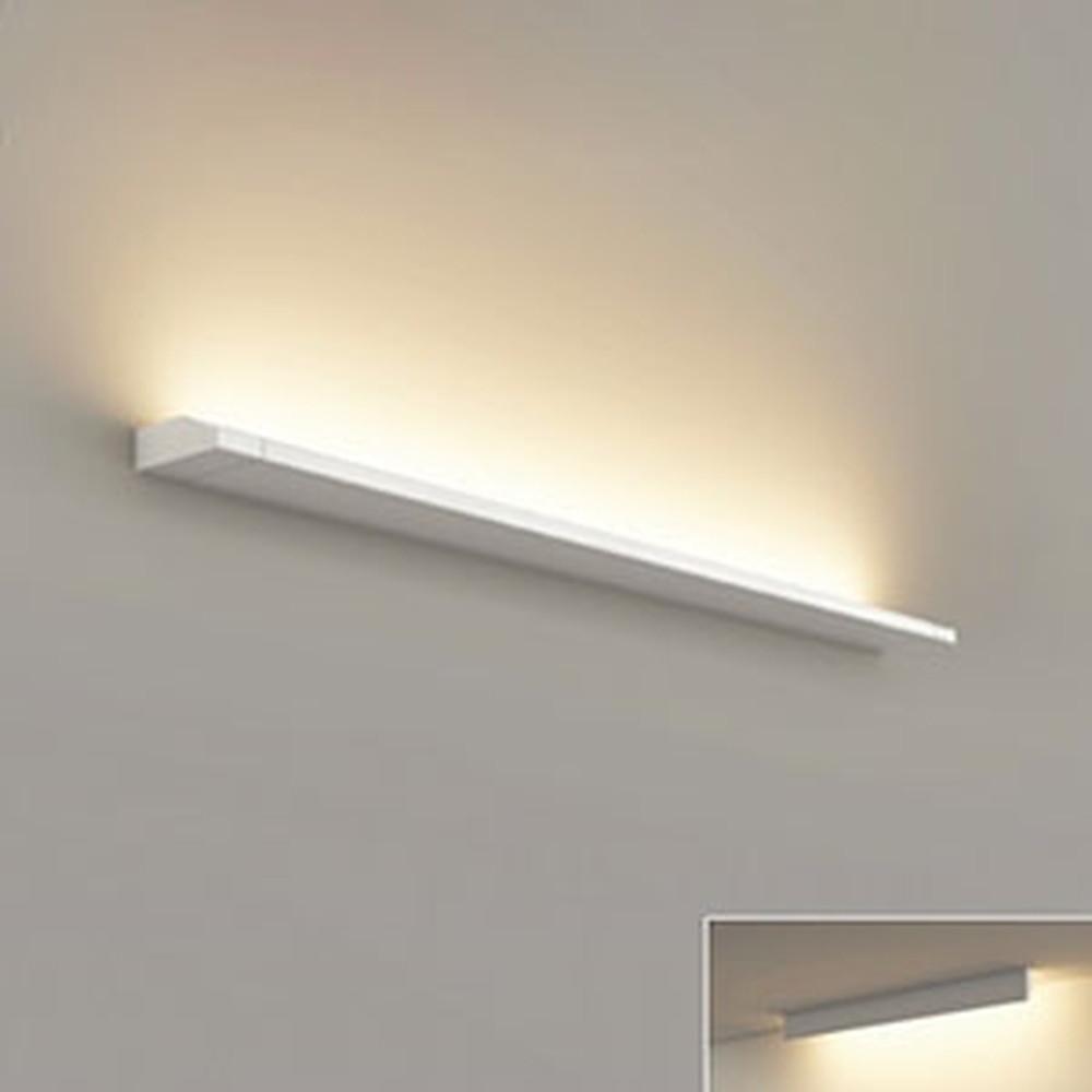 オーデリック LED一体型ブラケットライト 壁面・天井面取付兼用 L900タイプ 電球色 3000K 電源ケーブル・連結パーツ別売 OB255228E