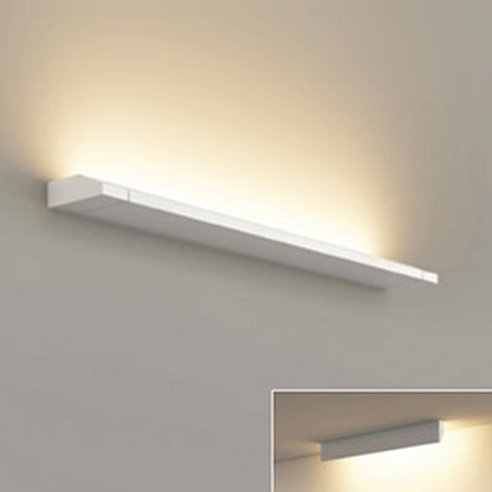 オーデリック LED一体型ブラケットライト 壁面・天井面取付兼用 L600タイプ 電球色 3000K 電源ケーブル・連結パーツ別売 OB255229E