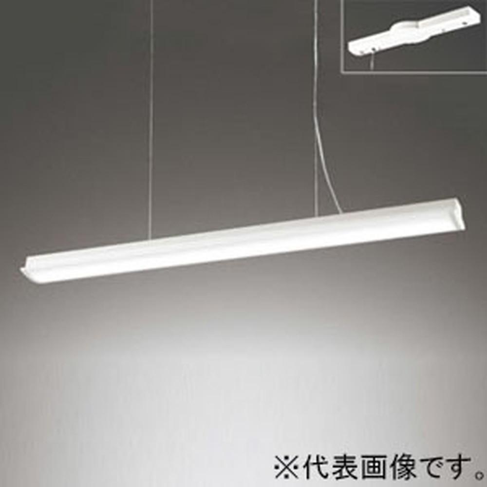 オーデリック LEDペンダントライト Hf32W定格出力×2灯相当 電球色 オフホワイト OP252621